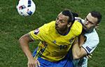 欧洲杯-比利时1-0瑞典