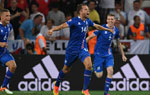 欧洲杯-冰岛2-1英格兰