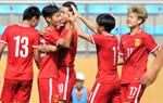 潍坊杯青年赛:中国国青2-0胜葡萄牙本菲卡
