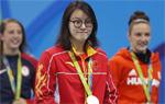 傅园慧女100仰泳摘铜