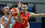男篮小组赛中国负法国