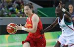 中国女篮胜塞内加尔