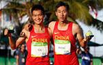 男子20公里竞走王镇夺冠