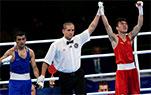 男子52公斤级胡建关晋级