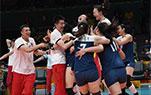 女排战胜巴西晋级四强