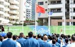 里约残奥会:中国体育代表团举行升旗仪式