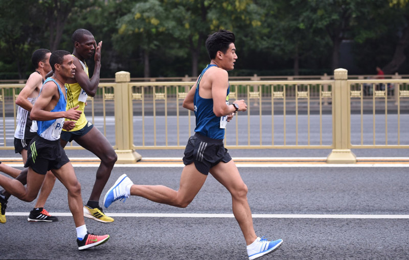 北京马拉松欢乐起跑