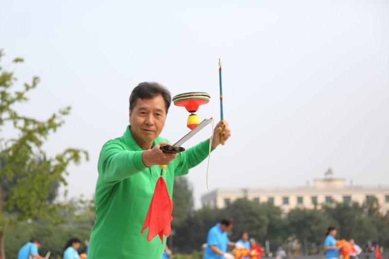 北京体育大会花样空竹挑战赛