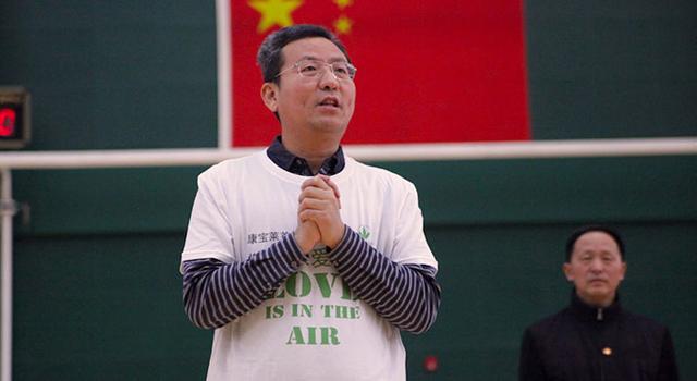 媒体篮球赛-首都媒体人走进北京轮椅篮球队
