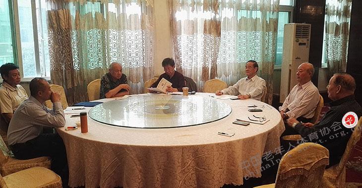 中国老体协气排球专委会召开办公会 明确2017年工作