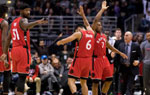 NBA常规赛-猛龙胜雄鹿