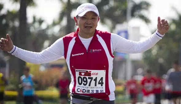 金飞豹专访丨内心奔跑才是真正的马拉松