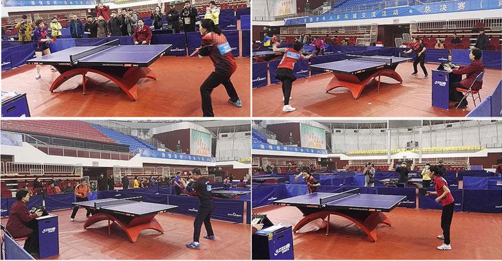 2016年全国老年人乒乓球交流活动总决赛房山落幕