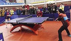 全国老年人乒乓球选手风采