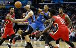 NBA常规赛雷霆胜鹈鹕