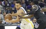 NBA常规赛勇士胜国王