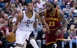 NBA常规赛爵士胜骑士
