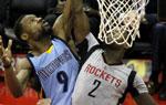 NBA常规赛灰熊胜火箭