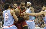 NBA常规赛骑士胜国王