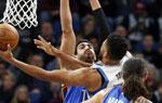 NBA常规赛:雷霆不敌森林狼