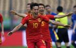 中国杯国足胜克罗地亚