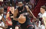 NBA常规赛热火胜火箭