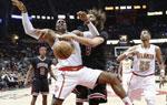 NBA常规赛:老鹰主场胜公牛