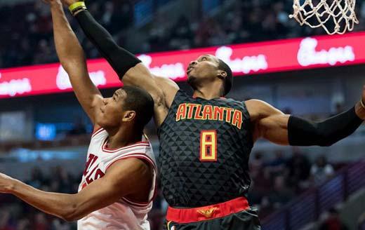 NBA常规赛:老鹰客场119-