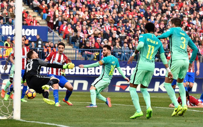 巴塞罗那胜马德里竞技