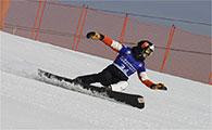 【山西】二青会单板滑雪赛举行小身体孕育大梦想