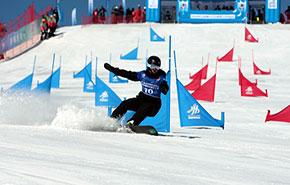 第二届全国青年运动会冰雪小将绽放芳华
