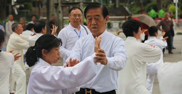 中国快3太极拳专委会专家讲师团走进南宁基层