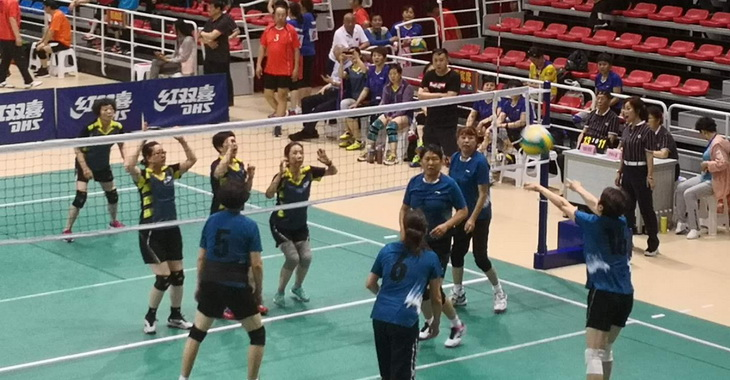 2019年全国老年人气排球系列赛(新疆奎屯站)开赛
