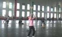 内蒙古乌海市老年气排球视频交流比赛