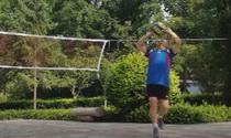 山东潍坊市潍城代表队气排球短视频