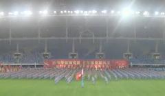 厦门湖里区健身球操千人展示