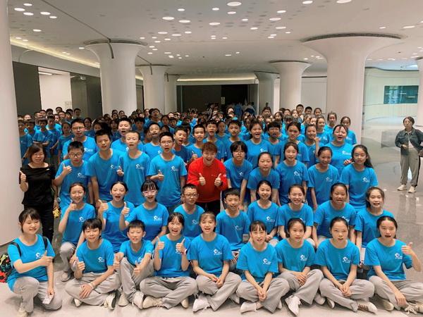 """冰基金""""快乐运动加油站""""公益支教活动捐赠仪式在织金县顺利举行"""